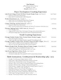 Soccer Coach Resume Samples Coaching Resume Contegri Com