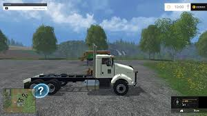 kenworth truck repair kenworth t800 plow truck csi v1 mod farming simulator 2015