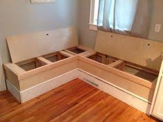 Kitchen Storage Bench Seat Plans by Best 25 Kitchen Benches Ideas On Pinterest Kitchen Nook Bench