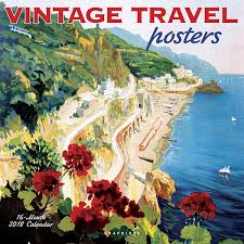 Travel Posters images Vintage travel posters wall calendar jpg