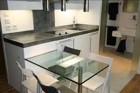 plan de travail en zinc pour cuisine evier et plan de travail en zinc patiné