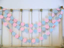 blue baby shower decorations gender reveal baby shower decorations 10 foot pink or blue