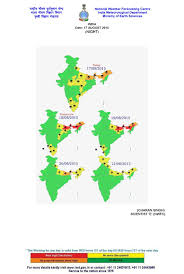 India Weather Map by Alerts And Status Received From Ksndmc For Bengaluru City Indian