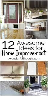 12 awesome home improvement ideas mm 163 a wonderful thought