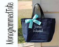 personalized bags for bridesmaids 5 wedding tote bags personalized bridesmaid gift tote bags