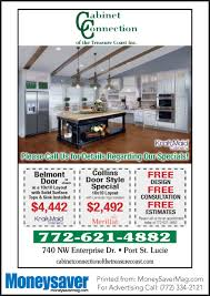 coupons for cabinet connection of the treasure coast my living