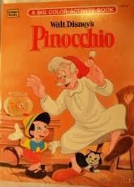 0307011380 walt disney u0027s pinocchio big coloring book