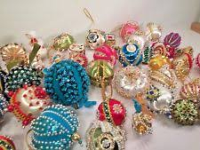 beaded ornaments ebay