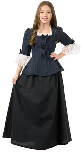 gothic halloween costumes for girls colonial child costume buycostumes com