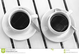 two cups of coffee royalty free stock photos image 35522298