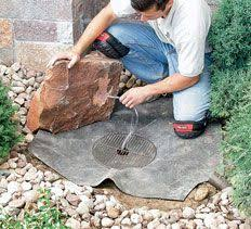 Rock Water Features For The Garden Rocks Gardens Water Water Features Gallery Stonewood