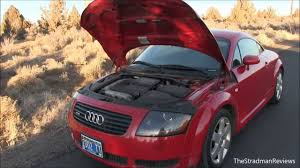 audi tt quattro car review youtube