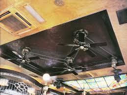 3 head ceiling fan hunter outdoor ceiling fan new bronze outdoorwet rated w plastic