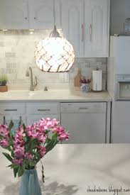 Hardware For Cabinets For Kitchens Kitchen Renovation Oak Cabinets Painted White With New Wisteria