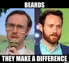 No Beard Meme - beards they make a difference memes pinterest silly things