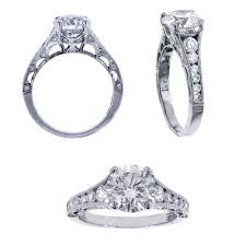 tacori crescent engagement ring tacori crescent engagement ring
