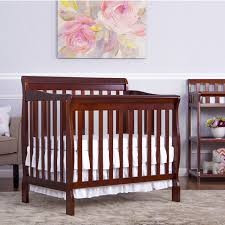 Baby S Dream Convertible Crib by Dream On Me Aden 4 In 1 Convertible Mini Crib Espresso Walmart Com