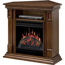 corner media electric fireplace home decorating interior design