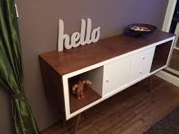 mid century ikea hack un meuble stylé années 50 avec kallax ikea expedit mid century