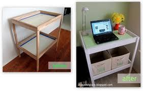 Sniglar Change Table Enjoyer Of Grace Ikea Sniglar Changing Table Makeover