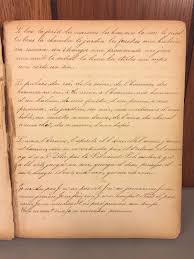 Antique Writing Paper Antique School Handwritten Work Theme Book Dublin Pa 1859 From