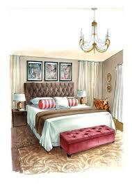 Bedroom Interior Design Sketches 1021 Best Sketches Interior Images On Pinterest Interior Design