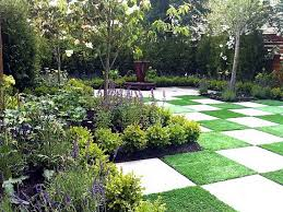 Backyard Grass Ideas Triyae Com U003d Backyard Tiles Ideas Various Design Inspiration For
