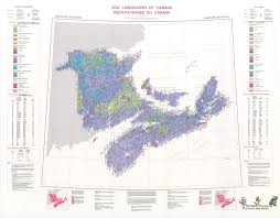 Map Of Canada Provinces by Soil Landscapes Of Canada Version 1 0
