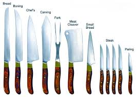 different types of kitchen knives and their uses 28 list of kitchen knives knife store april 2014 types of