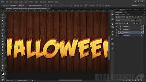 halloween background photohsop easy photoshop tutorial monster text effect youtube