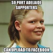 Meme Generator Upload Image - so port adelaide supporters can upload to facebook cjhanks