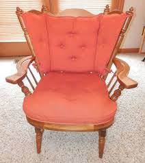 Maple Chairs Vintage 60 U0027s Tell City Rocking Chair Maple Colonial Andover Wide