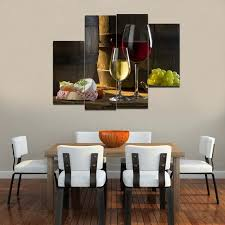 charming wine wall art decorating dining room 17 in dining room