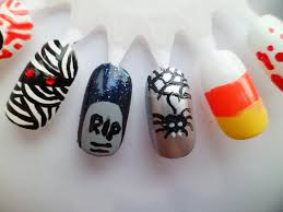 halloween nail art designs halloween nail design halloween nail