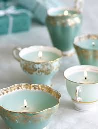 tea cup candles modern vintage decor modern vintage weddings vintage weddings