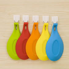 Yellow Kitchen Utensil Holder - aliexpress com buy random color silicone spoon rest heat