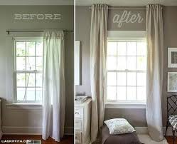 Contemporary Window Curtains Window Curtains Bedroom Budget Blinds Layered Window Treatments