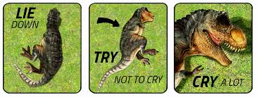 Trex Memes - try not to cry t rex version by themeekwarrior on deviantart