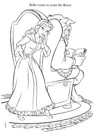 beauty and the beast halloween coloring pages u2013 halloween wizard