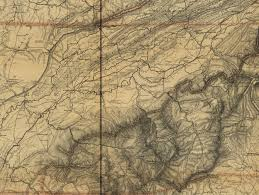 Map Of East Tennessee by Lincoln Maps And The Invasion Of East Tennessee Mapping The