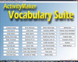 download free activitymaker vocabulary suite activitymaker