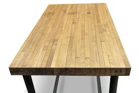 wood butcher block table john boos butcher block table kitchen tables within bar height