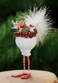 krinkles artichoke mini ornament new patience brewster original