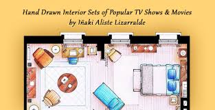 Tv Floor Plans Tv Shows Floor Plans That Take More Than 30 Hours To Create