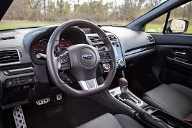 subaru impreza 2017 interior review 2017 subaru wrx sport tech cvt canadian auto review