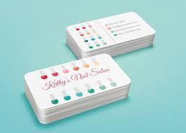 Biz Card Template Nail Salon Business Card Template Stylish Beauty Business