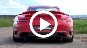 custom porsche 911 turbo pp performance makes porsche 911 turbo s pop and bang
