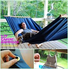 diy fabric hammocks to enjoy in summer