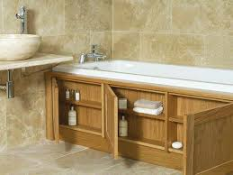 home improvements my bathroom makeover bath panel storage