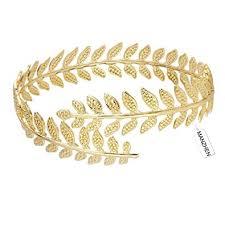gold leaf bracelet images Manzhen fashion adjustable leaf cuff bangle infinity jpg